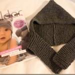 photo tricot modele tricot bebe echarpe 11