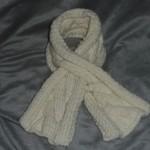 photo tricot modele tricot bebe echarpe 12