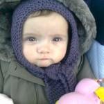 photo tricot modele tricot bebe echarpe 14