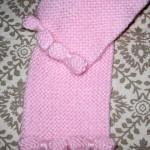photo tricot modele tricot bebe echarpe 17