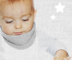 photo tricot modele tricot bebe echarpe 18