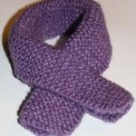 photo tricot modele tricot bebe echarpe 3