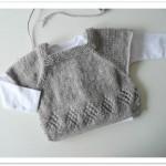 photo tricot modele tricot bebe gratuit bergere france 13