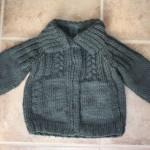 photo tricot modele tricot bebe gratuit bergere france 14