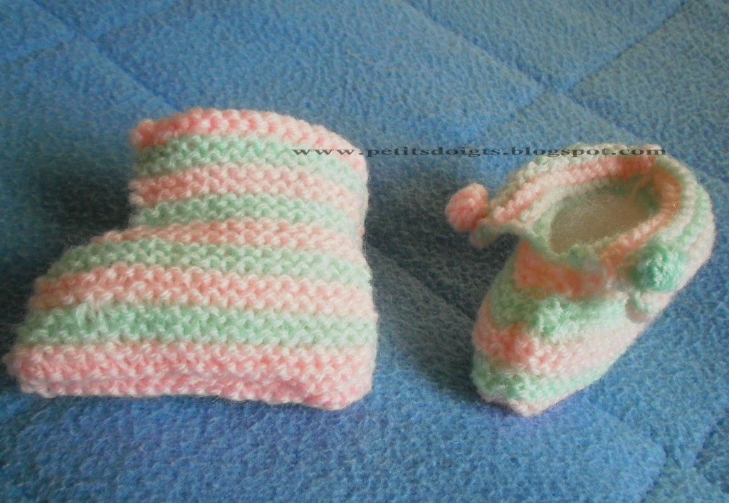 photo tricot modele tricot bebe original 4