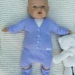 photo tricot modele tricot bebe original 9