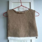 photo tricot modele tricot bebe simple 15