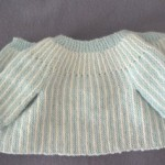 photo tricot modele tricot bebe simple 17