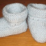 photo tricot modele tricot bebe simple 18