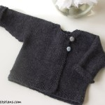 photo tricot modele tricot bebe simple 5