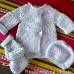 photo tricot modele tricot bebe simple 9