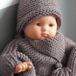 photo tricot modele tricot bonnet bébé 6 mois 16