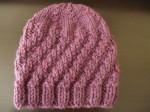 photo tricot modele tricot bonnet bébé 6 mois 8