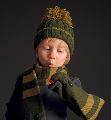 photo tricot modele tricot bonnet bebe fille 10