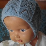 photo tricot modele tricot bonnet bebe fille 12