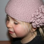 photo tricot modele tricot bonnet bebe fille 13