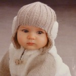 photo tricot modele tricot bonnet bebe fille 15