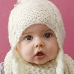 photo tricot modele tricot bonnet bebe fille 16