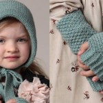 photo tricot modele tricot bonnet bebe fille 17