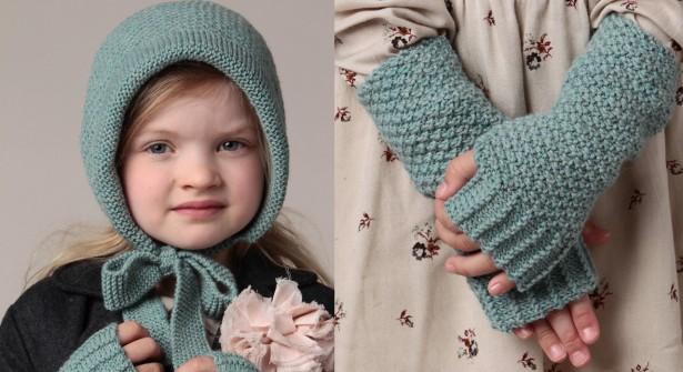 photo tricot modele tricot bonnet bebe fille 17