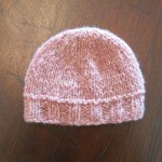 photo tricot modele tricot bonnet bebe fille 6
