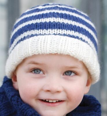 photo tricot modele tricot bonnet bebe fille 7
