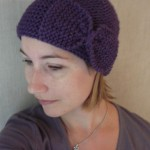 photo tricot modele tricot bonnet bebe fille 8