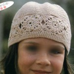 photo tricot modele tricot bonnet bebe fille 9