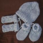 photo tricot modele tricot bonnet bebe naissance 14