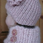 photo tricot modele tricot bonnet fille 2 ans 14