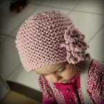 photo tricot modele tricot bonnet fille 2 ans 15
