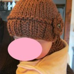 photo tricot modele tricot bonnet fille 2 ans 16