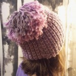 photo tricot modele tricot bonnet fille 2 ans 17