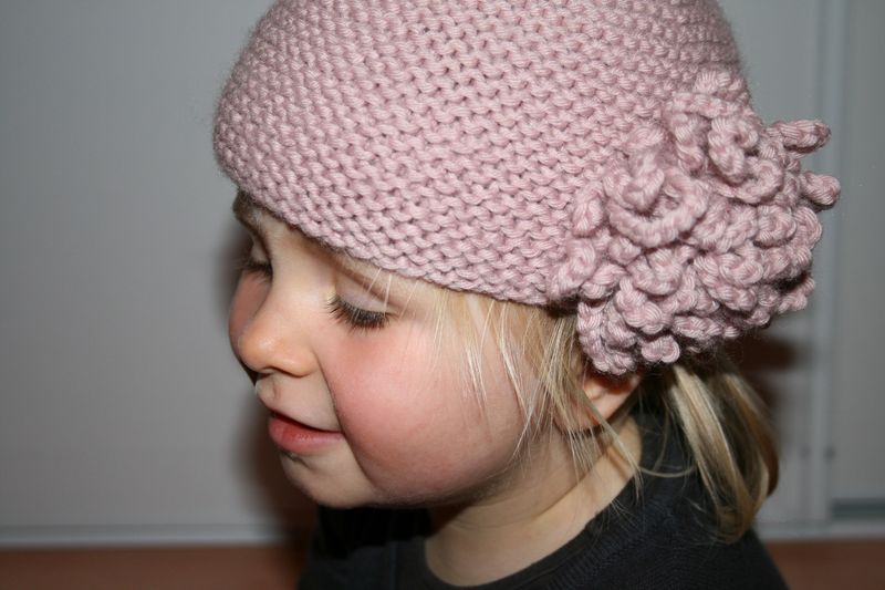 photo tricot modele tricot bonnet fille 2 ans 3