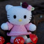 photo tricot modele tricot bonnet hello kitty 14