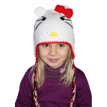 photo tricot modele tricot bonnet hello kitty 5