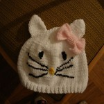 photo tricot modele tricot bonnet hello kitty 6