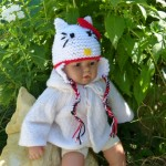 photo tricot modele tricot bonnet hello kitty 7