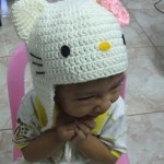 photo tricot modele tricot bonnet hello kitty 8