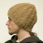 photo tricot modele tricot bonnet homme torsade 10