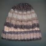 photo tricot modele tricot bonnet homme torsade 13
