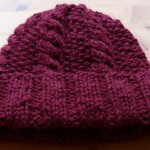 photo tricot modele tricot bonnet homme torsade 3