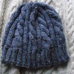 photo tricot modele tricot bonnet homme torsade 9