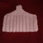 photo tricot modele tricot chausson adulte facile 4