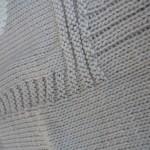 photo tricot modele tricot couverture bébé facile 10