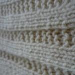 photo tricot modele tricot couverture bébé facile 11
