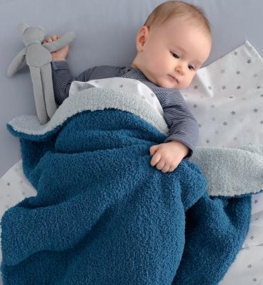 photo tricot modele tricot couverture b b facile 6. Black Bedroom Furniture Sets. Home Design Ideas