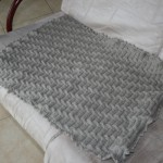 photo tricot modele tricot couverture bébé facile 8
