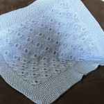 photo tricot modele tricot couverture torsade 11
