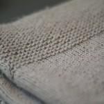 photo tricot modele tricot couverture torsade 13